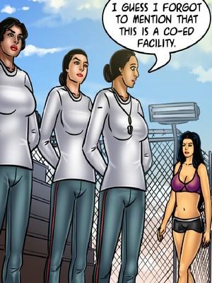 Adult Comics Savita Bhabhi 68- Undercover Bust Porn Comic 99