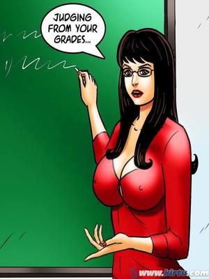 Adult Comics Savita Bhabhi 69- Student Affairs Porn Comic 04