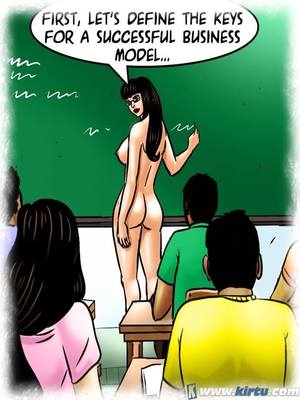 Adult Comics Savita Bhabhi 69- Student Affairs Porn Comic 09