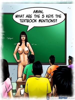 Adult Comics Savita Bhabhi 69- Student Affairs Porn Comic 10