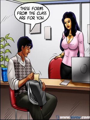 Adult Comics Savita Bhabhi 69- Student Affairs Porn Comic 121