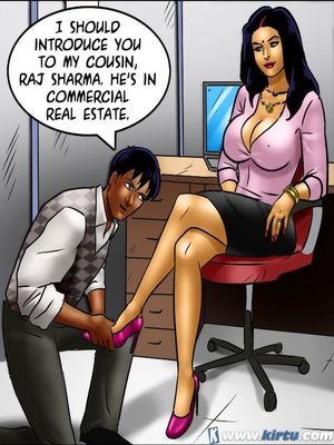Adult Comics Savita Bhabhi 69- Student Affairs Porn Comic 135