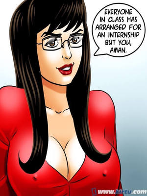 Adult Comics Savita Bhabhi 69- Student Affairs Porn Comic 39
