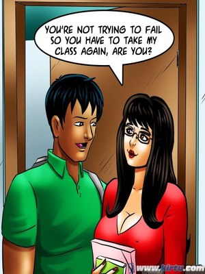 Adult Comics Savita Bhabhi 69- Student Affairs Porn Comic 44