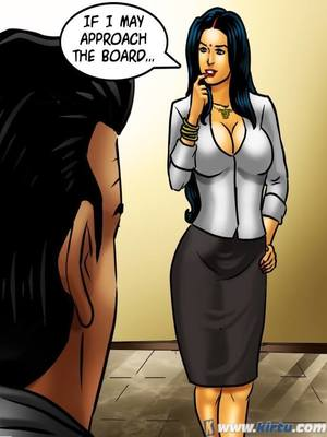 Adult Comics Savita Bhabhi 69- Student Affairs Porn Comic 56