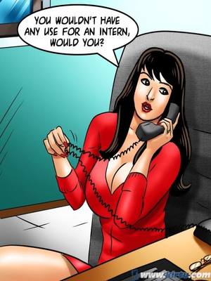 Adult Comics Savita Bhabhi 69- Student Affairs Porn Comic 79