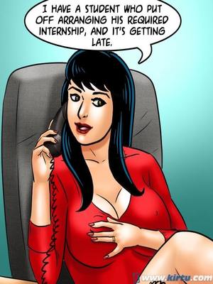 Adult Comics Savita Bhabhi 69- Student Affairs Porn Comic 81