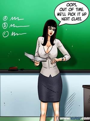 Adult Comics Savita Bhabhi 70- Nehau2019s Education Porn Comic 46