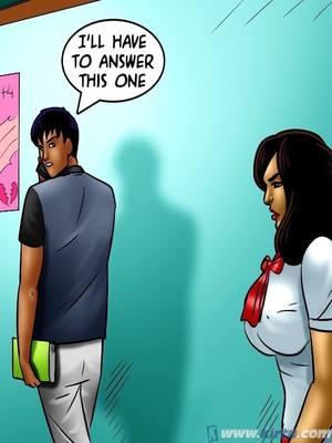 Adult Comics Savita Bhabhi 70- Nehau2019s Education Porn Comic 57