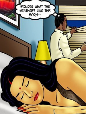 Adult Comics Savita Bhabhi 73- Caught in the Act Porn Comic 03