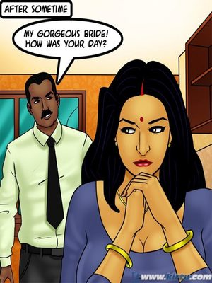 Adult Comics Savita Bhabhi 73- Caught in the Act Porn Comic 110