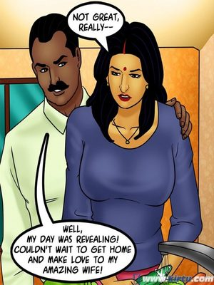 Adult Comics Savita Bhabhi 73- Caught in the Act Porn Comic 111
