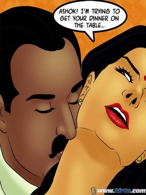 Adult Comics Savita Bhabhi 73- Caught in the Act Porn Comic 112