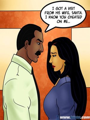 Adult Comics Savita Bhabhi 73- Caught in the Act Porn Comic 117