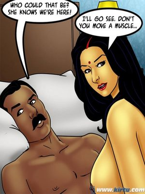 Adult Comics Savita Bhabhi 73- Caught in the Act Porn Comic 22