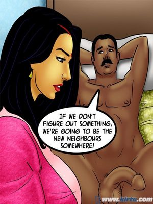 Adult Comics Savita Bhabhi 73- Caught in the Act Porn Comic 32
