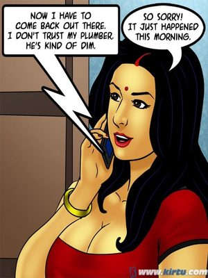 Adult Comics Savita Bhabhi 73- Caught in the Act Porn Comic 36