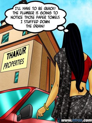 Adult Comics Savita Bhabhi 73- Caught in the Act Porn Comic 38