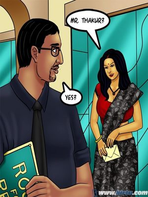 Adult Comics Savita Bhabhi 73- Caught in the Act Porn Comic 39