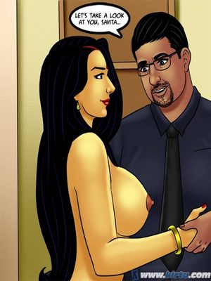 Adult Comics Savita Bhabhi 73- Caught in the Act Porn Comic 50