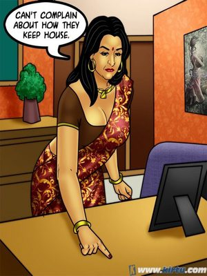 Adult Comics Savita Bhabhi 73- Caught in the Act Porn Comic 70