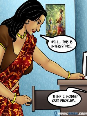 Adult Comics Savita Bhabhi 73- Caught in the Act Porn Comic 73