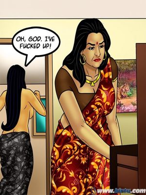 Adult Comics Savita Bhabhi 73- Caught in the Act Porn Comic 94