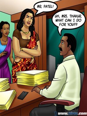 Adult Comics Savita Bhabhi 73- Caught in the Act Porn Comic 97