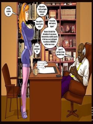Interracial : Scandalous Daphne 1-2, John Persons Porn Comic sex 05