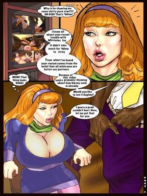 Interracial : Scandalous Daphne 1-2, John Persons Porn Comic sex 06