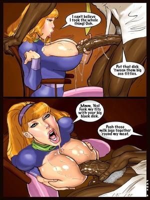 Interracial : Scandalous Daphne 1-2, John Persons Porn Comic sex 10
