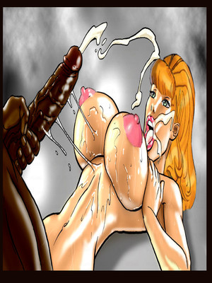 Interracial : Scandalous Daphne 1-2, John Persons Porn Comic sex 39