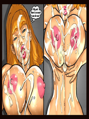 Interracial Comics Scandalous Daphne 1-2, John Persons Porn Comic 40