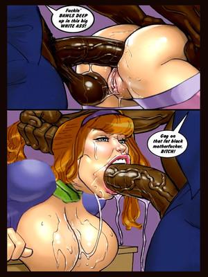 Interracial : Scandalous Daphne Chapter 3-4, John Persons Porn Comic sex 18