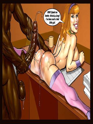 Interracial : Scandalous Daphne Chapter 3-4, John Persons Porn Comic sex 52