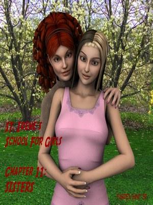 Porn Comics - 3D : School For Girls Ch.11- Sisters Porn Comic