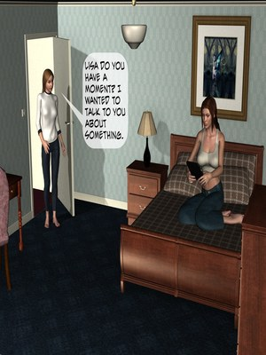 3D Porn Comics School For Girls Ch.11- Sisters Porn Comic 38