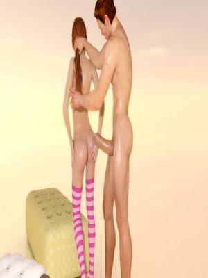 3D : Seduced by Teen Daughter- BadOnion Porn Comic sex 21