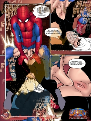 Adult Comics Seiren- Spiderman Porn Comic 29