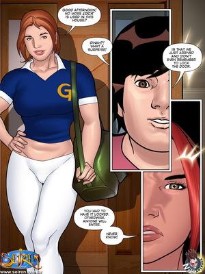 Adult Comics Seiren- The Sportswoman 9 [English] Porn Comic 04