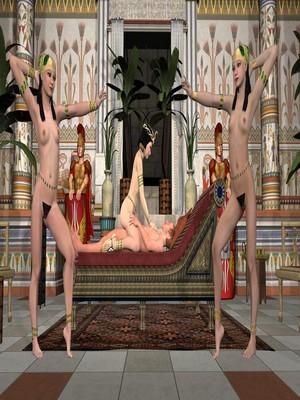 3D : Sex With Cleopatra [3D] Porn Comic