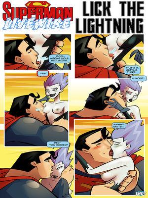 Sexfire- Lick The Lightning [Superman] free Porn Comic