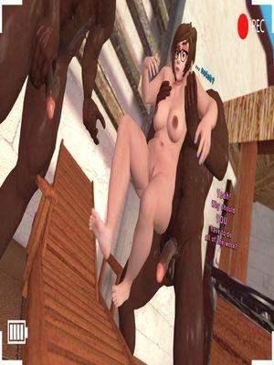 3D Porn Comics SFM- Poolside Chub Porn Comic 03