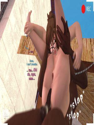 3D Porn Comics SFM- Poolside Chub Porn Comic 08