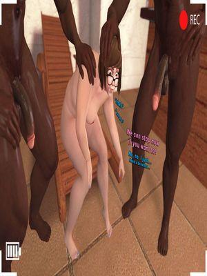 3D Porn Comics SFM- Poolside Chub Porn Comic 50