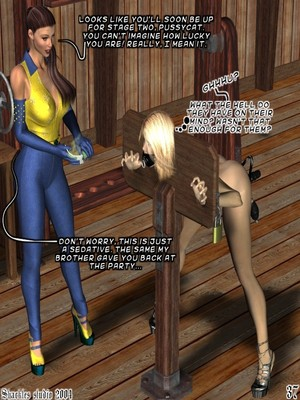 3D Porn Comics Shackles Studio- The Training- Part 2 Porn Comic 03