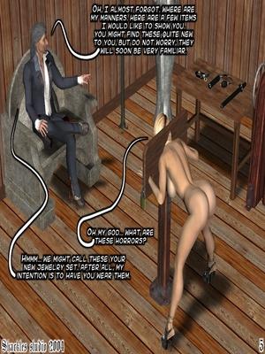 3D Porn Comics Shackles Studio- The Training Porn Comic 05