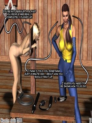 3D Porn Comics Shackles Studio- The Training Porn Comic 13
