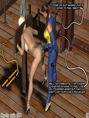 3D Porn Comics Shackles Studio- The Training Porn Comic 20