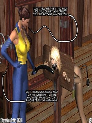 3D Porn Comics Shackles Studio- The Training Porn Comic 23
